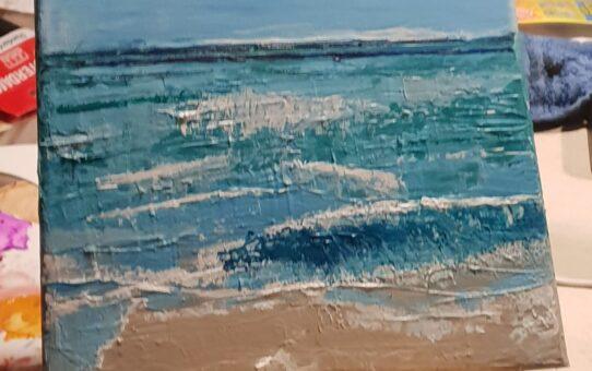 WORKSJOP Zeeland STRANDland schilderij