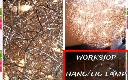 WORKSJOP ALUWIRE BOLlamp (hang/lig)