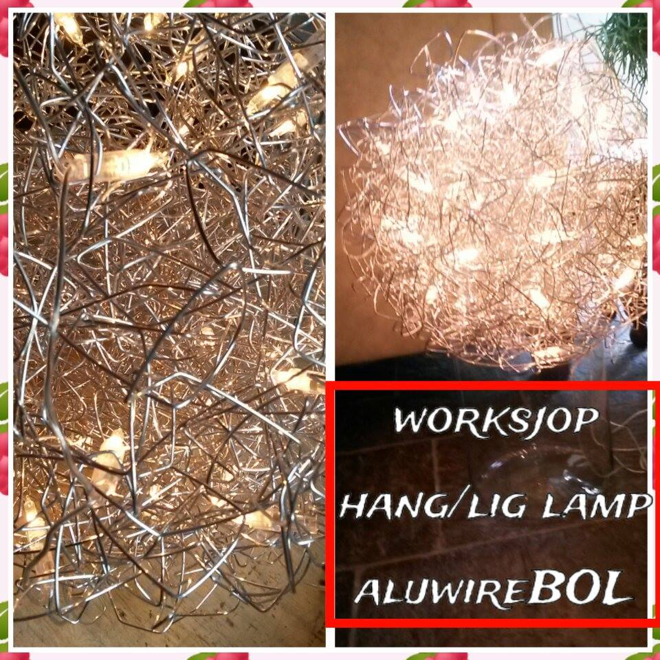 WORKSJOP ALUWIRE BOLlamp (hang/lig)